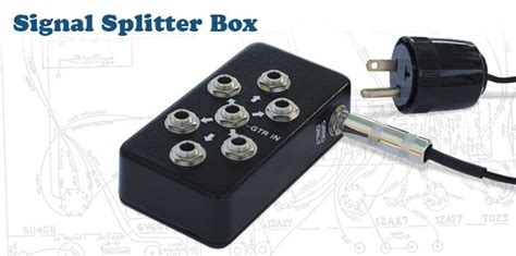 texas guitar whiz rene martinez signal splitter box