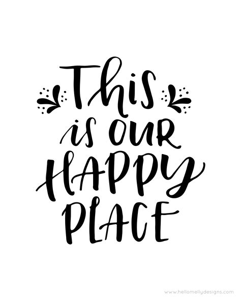 printable house quotes this is our happy place lil luna