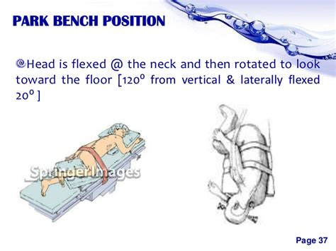 park bench position positioning in neurosurgeries