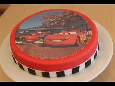 cars kuchen selber backen geburtstagstorte einfache und schnelle cars torte mit