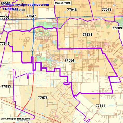 pearland texas map zip code map of 77584 demographic profile residential housing information etc