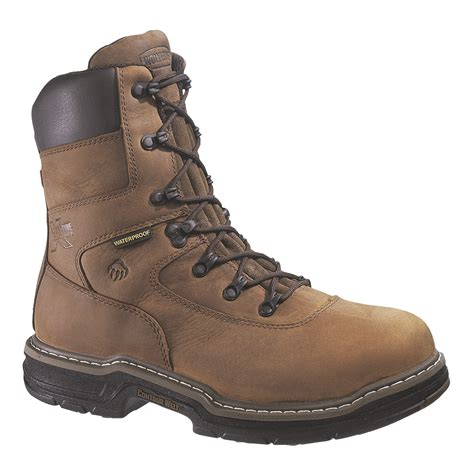wolverine steel toe boots wolverine 8 quot marauder multishox contour welt insulated