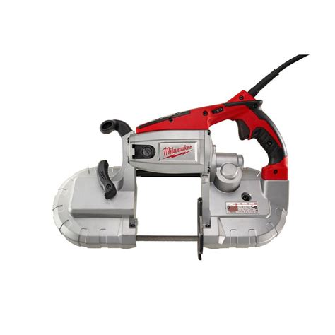 portable band saw milwaukee reconditioned 10 5 cut portable band saw with 6232 8n the home depot