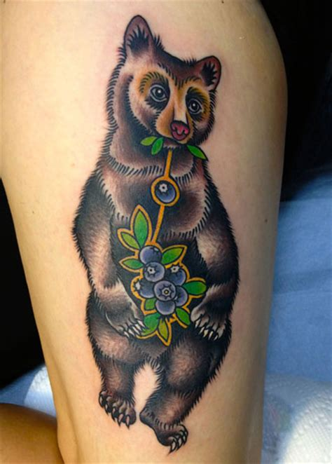 tattoo old school bear arm new school bear tattoo by saved tattoo