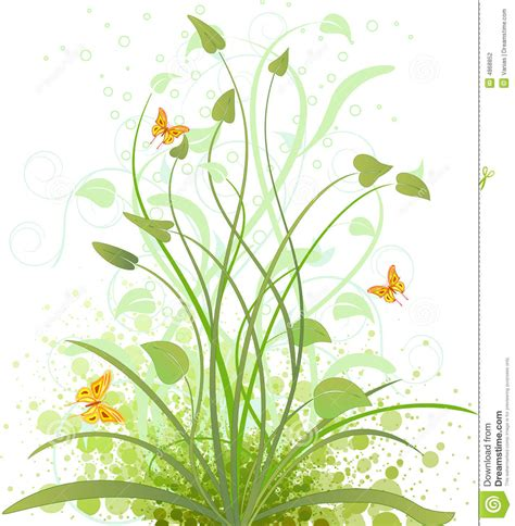 cover design nature floral background vector design stock vector