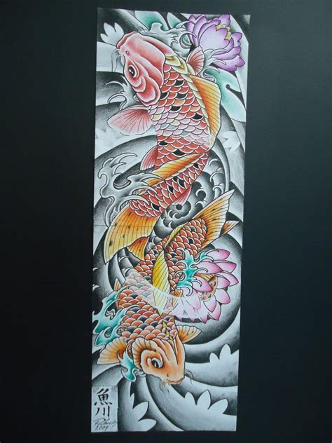 tattoo art koi fish koi fish tattoo by renatopahaor on deviantart