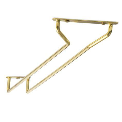 Brass Wine Glass Rack by Brass Plated Glass Rack 10inch Wine Glass Hanger