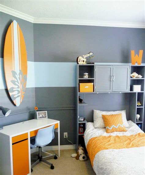 childrens bedroom colour schemes idee deco chambre ado surf ideeco