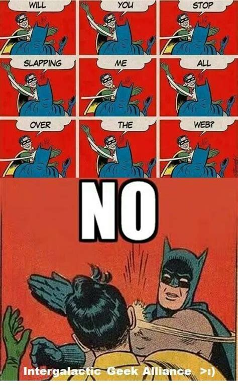 Batman Slap Meme - 15 best batman abusing robin images on pinterest funny