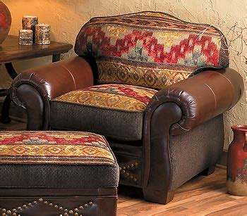 southwestern chairs and ottomans southwest inspired design the design