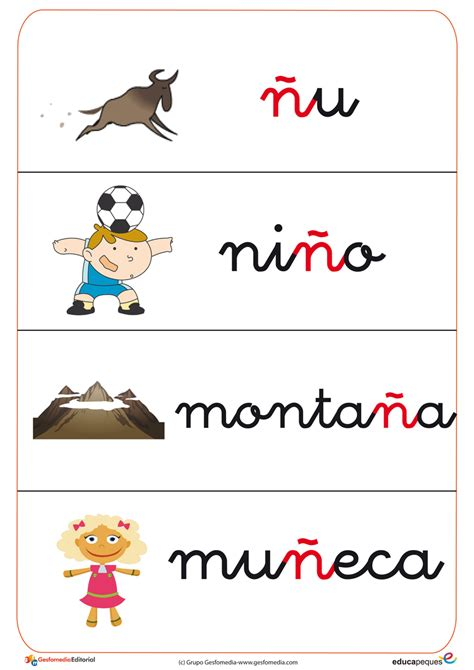 imagenes que comiencen con la letra n fichas de vocabulario y letras gratis educapeques