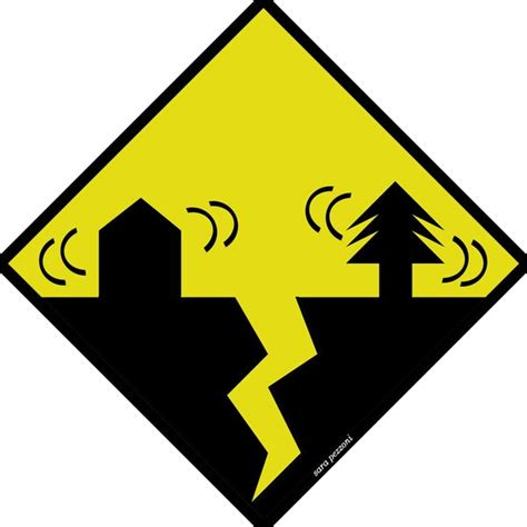 earthquake signs earthquake sign by xthumbtakx on deviantart