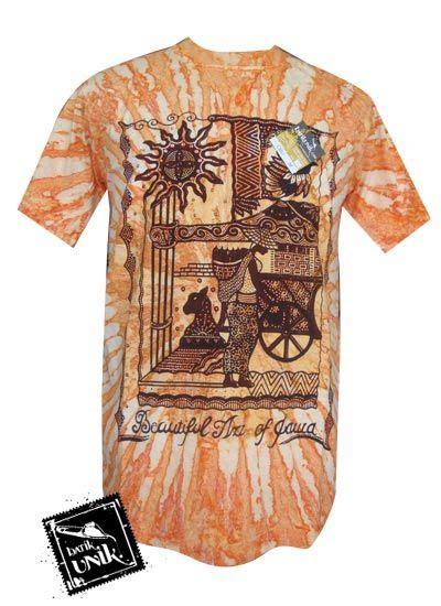Kaos Batik Wayang Warna 12 baju batik kaos etnik motif wayang pelangi kaos murah