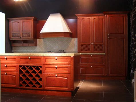Decorating With Cherry Wood Kitchen Cabinets My Kitchen Modern Cherry Kitchen Cabinets