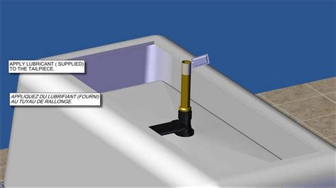 freestanding bathtub installation itd35 freestanding tub drain testable rough in kit installation video youtube