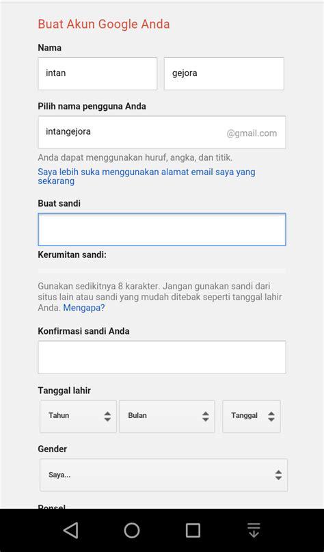 masalah saat membuat akun gmail raflinews com cara membuat akun email gmail google paling