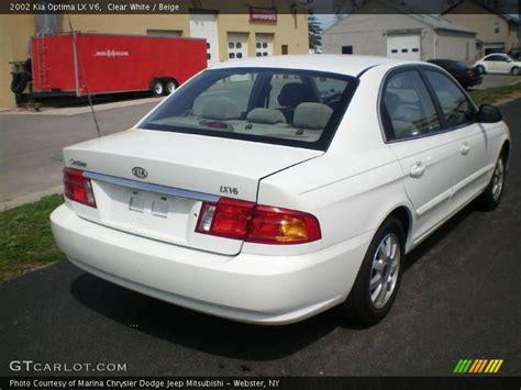 2002 Kia Optima Lx 2002 Kia Optima Lx V6 In Clear White Photo No 8052764