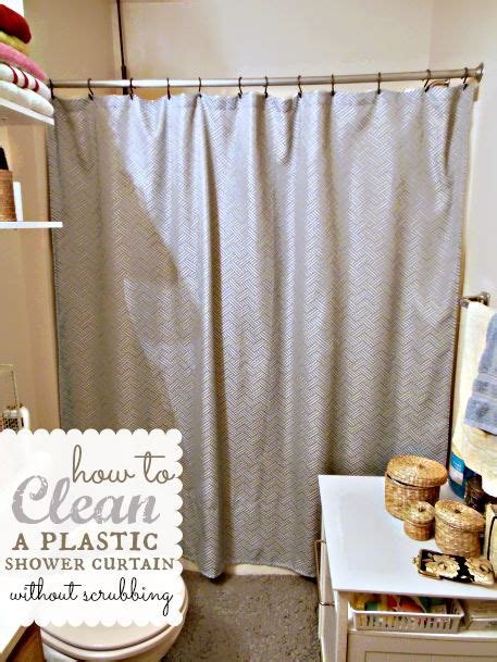 how to clean plastic shower curtain liner how to clean a plastic shower curtain shower liner