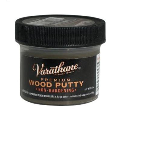 varathane 3 75 oz walnut wood putty 223254 the