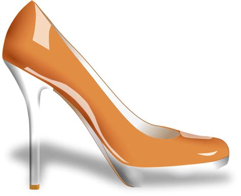 artistic high heels shoe clip free cliparts co