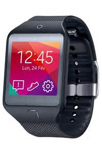montre connect 233 e samsung gear 2 lite noir 4004400 darty