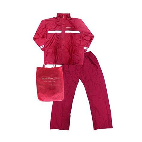 Jas Hujan Dua Kepala Dengan Ponco jual axio merah jas hujan harga kualitas terjamin blibli