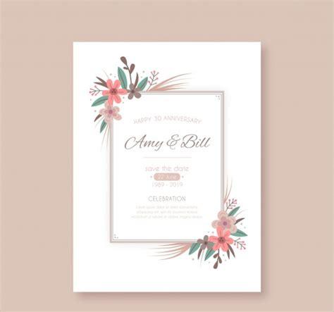 21 Anniversary Invitation Card Templates Free Premium 1st Wedding Anniversary Invitation Templates
