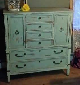 shabby chic rustic furniture beautiful green blue distressed shabby chic armoire server
