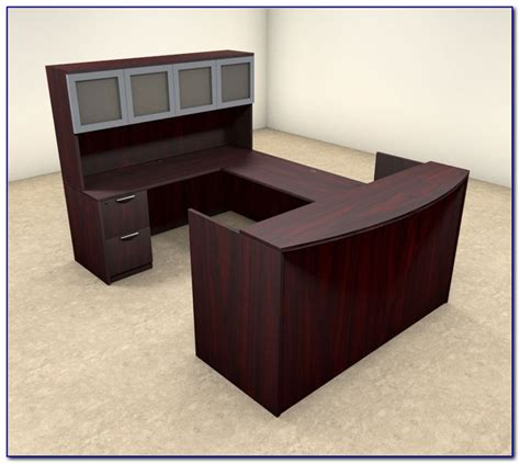U Shaped Reception Desk U Shaped Reception Desk With Hutch Desk Home Design Ideas 8zdvda6pqa74194