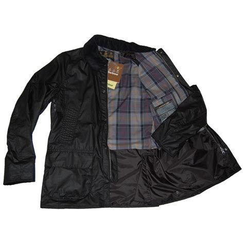 barbour jacket barbour barfield jacket black mens jackets from attic clothing uk