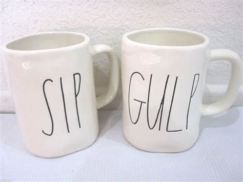 rae dunn mugs magenta by rae dunn sip gulp coffee tea mug other