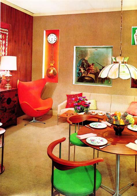 interior decor  decade  psychedelia gave rise
