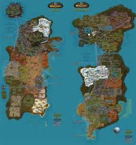 Wow World Map by 1000 Ideas About World Of Warcraft Map On Pinterest Map