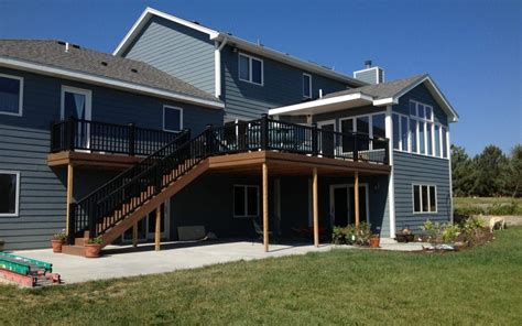 deck builders lincoln ne carlson projects inc lincoln ne