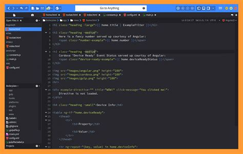 best php text editor 6 best macos and linux programming text editor for web