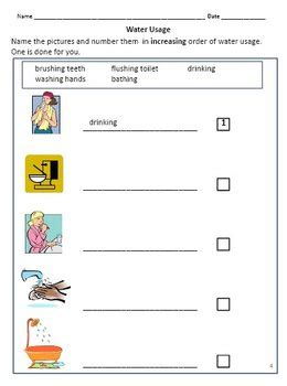 air and water worksheets for grade 2 3 by rituparna