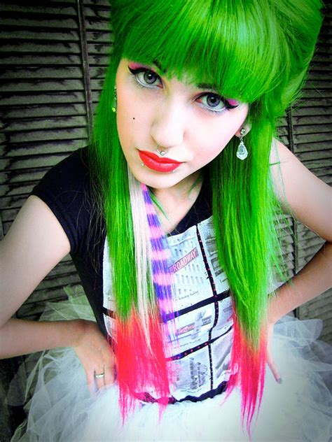 green hair color perfect green hair colors ideas