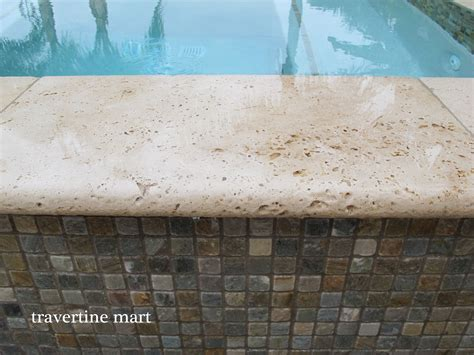 travertine pavers  salt water erosion