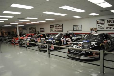 inside rcr museum picture of richard childress racing