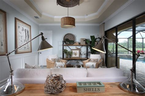 treviso bay toscana eclectic living room miami by