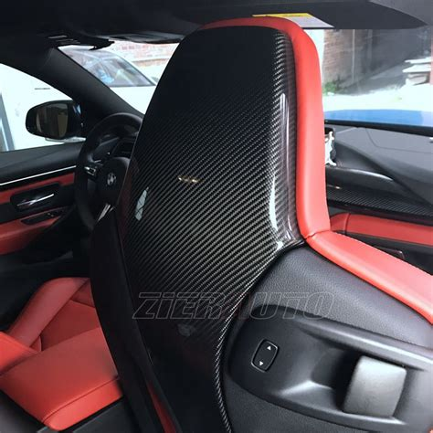 bmw m3 f80 seat covers for bmw m3 m4 carbon fiber seat back cover bmw f80 f82