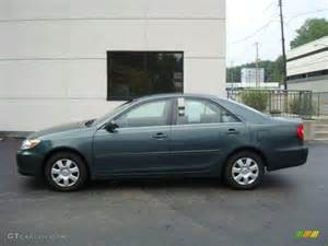 Toyota Green 2004 Aspen Green Pearl Toyota Camry Le 17055837