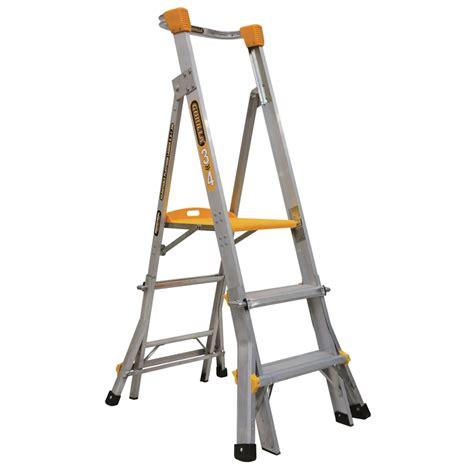 1 80 x 2m matratze gorilla 0 9 1 2m 150kg aluminium adjustable platform ladder