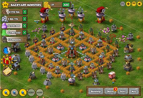 backyard monsters facebook facebook backyard monsters best monster bunker base