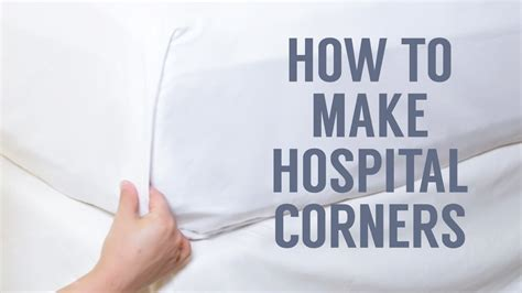 how to make a hospital bed how to make hospital corners in a snap youtube