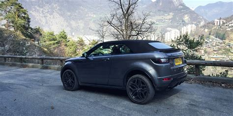 range rover coupe convertible 2017 land rover range rover evoque convertible review