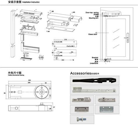 Concealed Overhead Transom Door Closer Buy Transom Door Overhead Door Closer Adjustment
