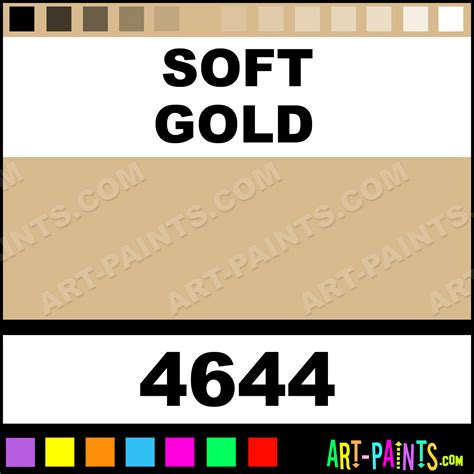 soft gold colors fabric textile paints 4644 soft gold paint soft gold color folkart colors