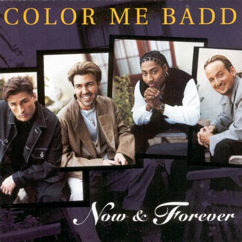 color me badd now forever cd album at discogs