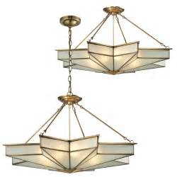 hanging chandelier light fixture elk 22013 8 decostar contemporary brushed brass ceiling